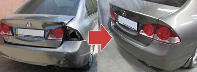 Восстановление автомобиля после ДТП